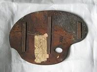 Edward Opie's palette - back view