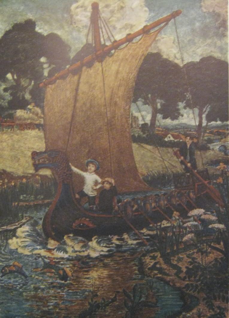Enraght-Moony painting