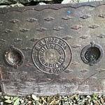 Friston manhole cover