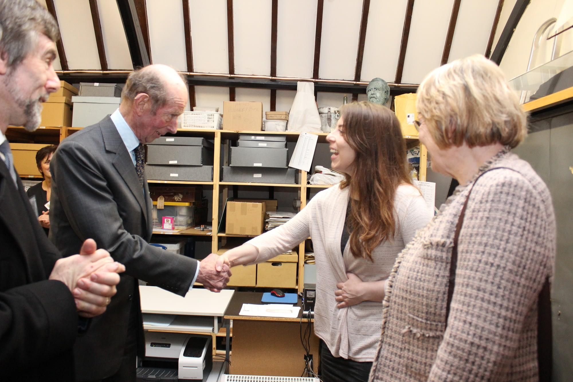 Duke of Kent Visits