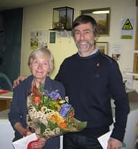 Isobel Burrows and Roger Radcliffe