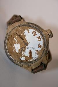 Watch belonging to Harold Llewellyn Twite